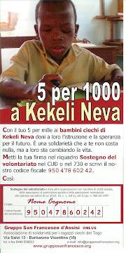 5 per 1000 a Kekeli Neva
