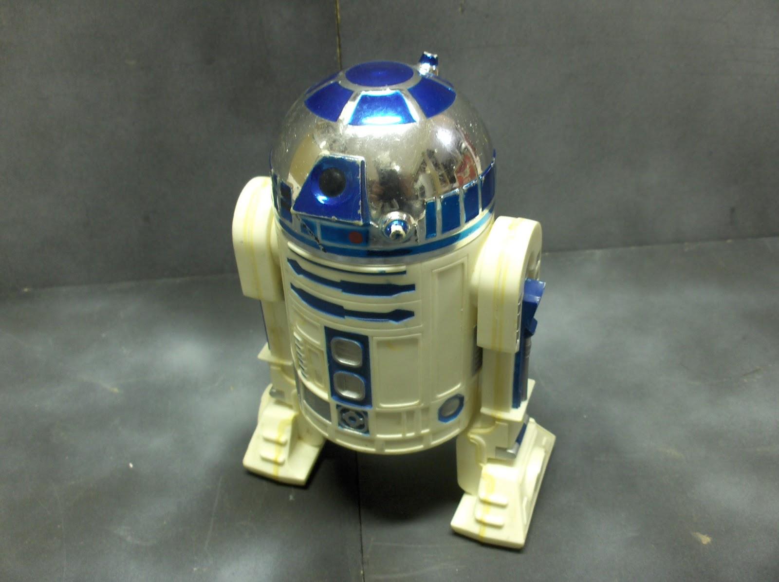 vintage kenner star wars toys large size r2 d2