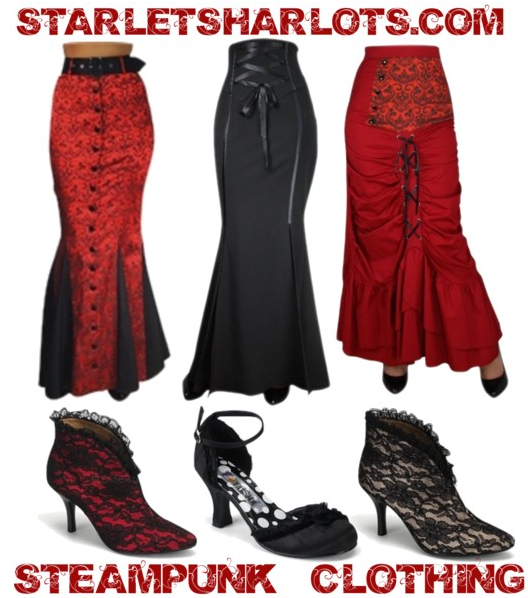 victorian plus size steampunk clothing steampunk