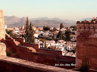 Sobre el perdón, Granada, Alhambra, Albaicín, José Luis López Recio, reflexiones