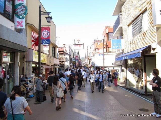 Streets in Kamakura