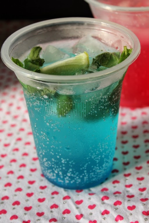 Blue Curacao Non Alcoholic Drinks