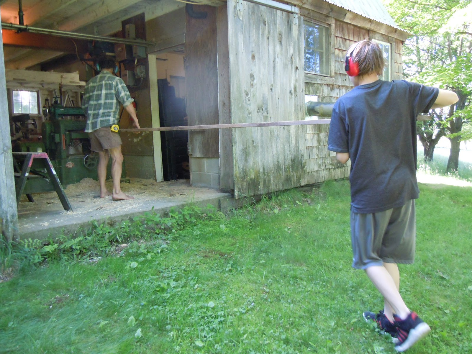 adventures on the northern forest canoe trail boat building day 4