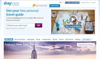 www.stay.com más guias de viaje personalizadas, esta vez en ingles