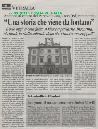 Corriere di Viterbo de l27.09.2011