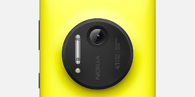Nokia Lumia 1020 Yellow Closer Look of 41 Mega Pixel Camera