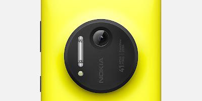 Nokia Lumia 1020 Yellow Closer Look of 41 Mega Pixel Camera