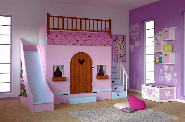 Cama casa en dormitorios infantiles dormitorio casita de - Camas de princesas para nina ...