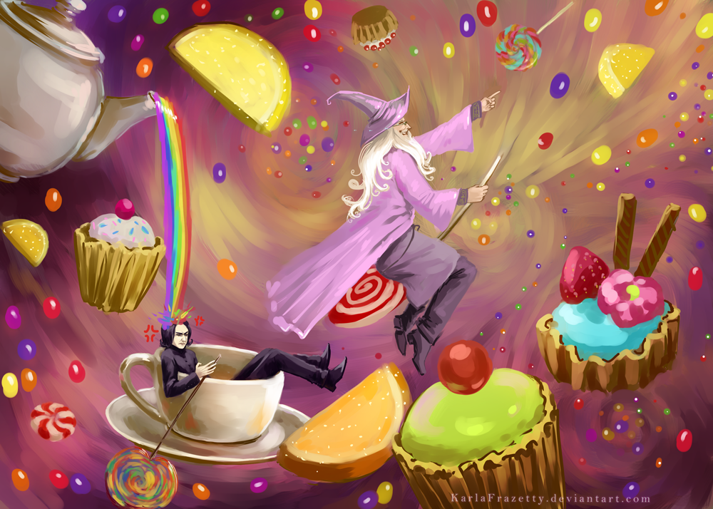 Albus in Candyland