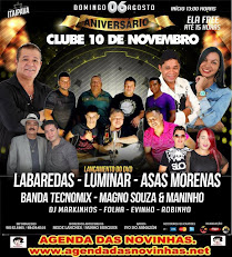 ANIVERSÁRIO DO CLUBE 10 DE NOVENBRO.