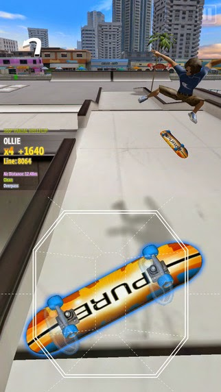 pure skate 2 iphone jeux apple