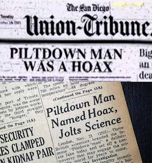 Evolution is a Lie - Intelligent Design is the Truth! Piltdown-hoax1