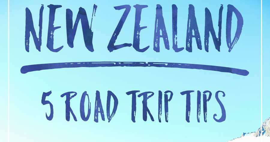 Ink Adventure 5 Tips For Your New Zealand Road Trip