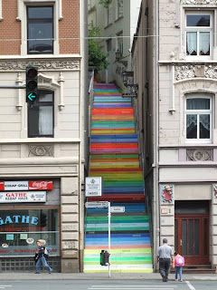 Holsteiner German Colorful Stairs