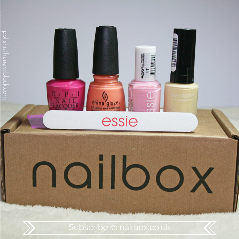 Nailbox UK: Review & Swatches / Polish Is The New Black