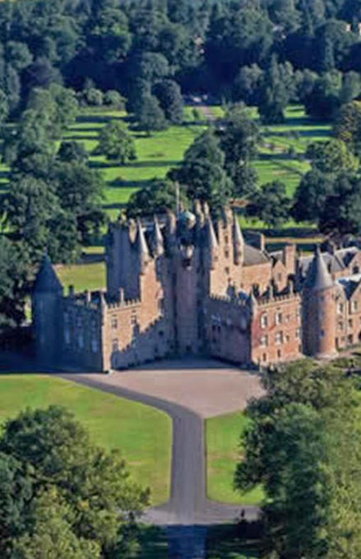 Glamis Castle,Glamis,Scotland,UK