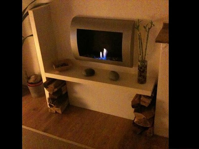 Lack fireplace