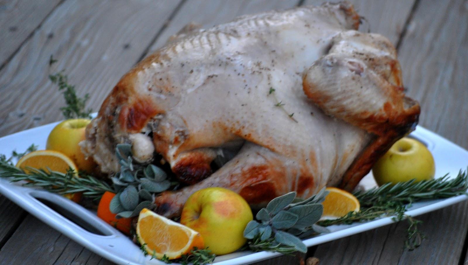 The Farm Girl Recipes: Cider Brined Turkey