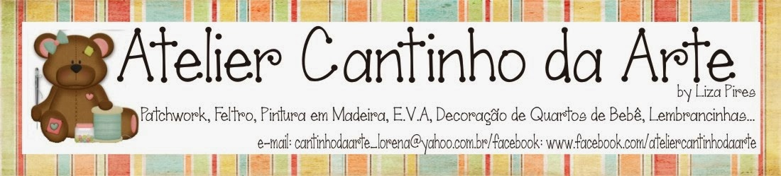 Atelier Cantinho da Arte Artesanato em Madeira e tecido