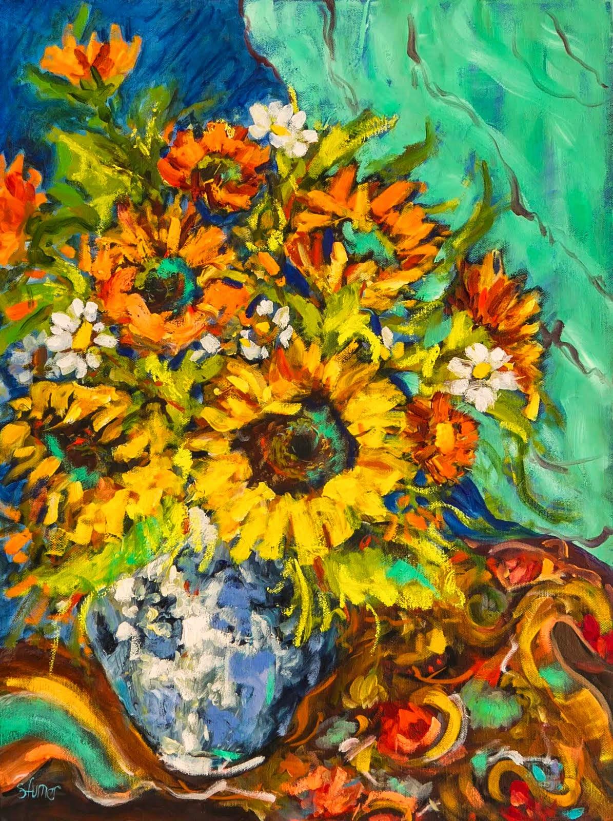 Friday's Sunflowers