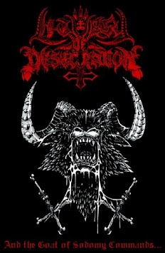 "LITURGY OF DESECRATION - ""AND THE GOAT OF SODOMY COMMANDS..."""
