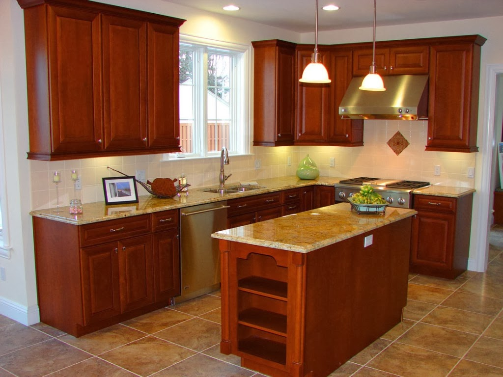 Home and garden best small kitchen remodel ideas for Tiny kitchen remodel