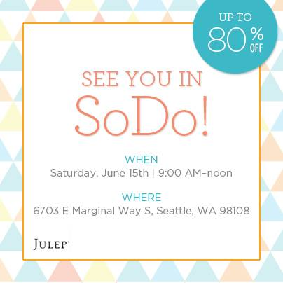 Julep-Warehouse-Sale