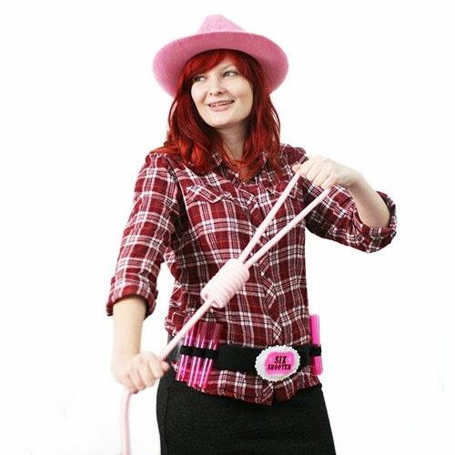Pomysł na stylizację na wieczór panieński - szalona kowbojka :)