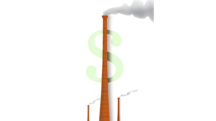 "The Environmental Protection Agency has an estimated price for the effects of greenhouse gases: It's called the ""social costs of carbon,"" and is put at $38 per ton of emissions. (Credit: Wes Bausmith / Los Angeles Times) Click to enlarge."