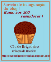 SORTEIO CU DE BRIGADEIRO