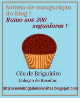 SORTEIO CÉU DE BRIGADEIRO