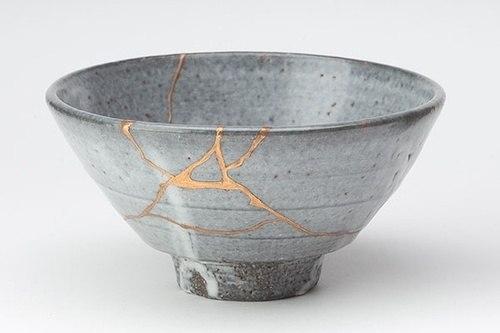 Искусство золотого шва - KINTSUGI (金継ぎ)