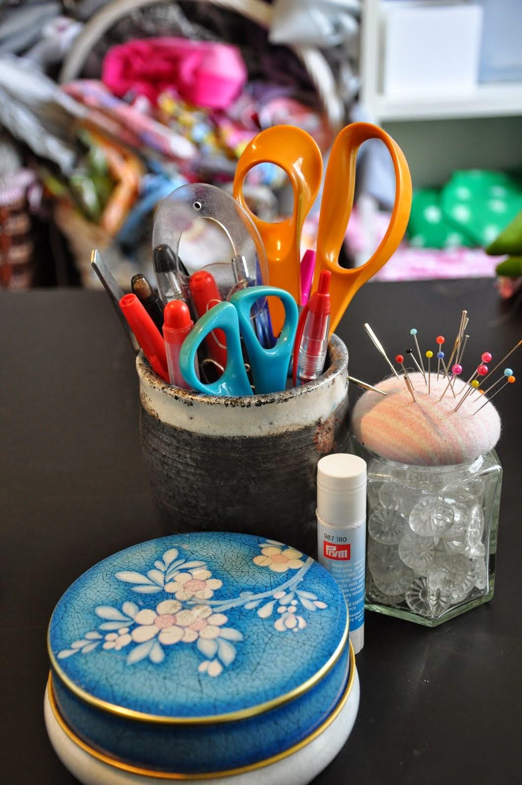 Alltid på mitt sybord