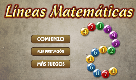 http://www.novelgames.com/es/spgames/mathlines/