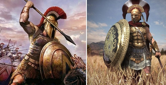 Οι ασπίδες των Αρχαίων Ελλήνων που προκαλούσαν τον τρόμο στους βάρβαρους!