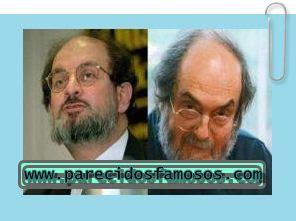 Salman Rushdie con Stanley Kubrick