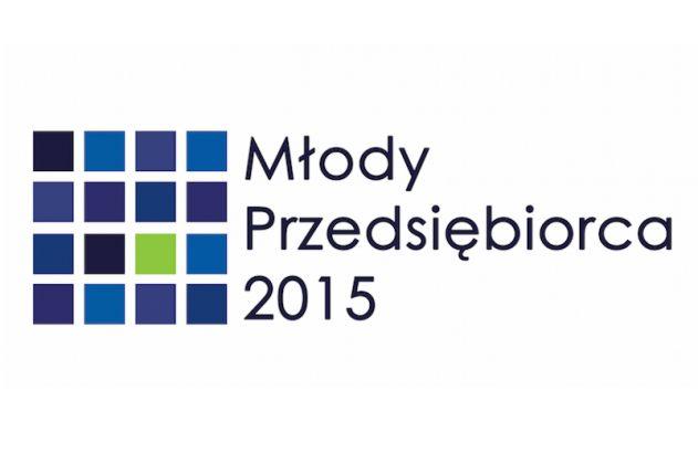 Logo konkursu Młody Przedsiębiorca 2015