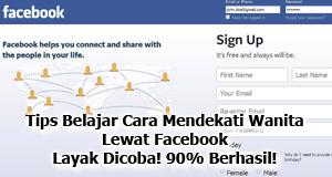 Tips Belajar Cara PDKT & Mendekati Cewek Lewat Facebook