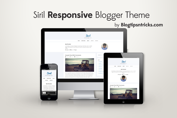 Siril Responsive Blogger Theme Demo