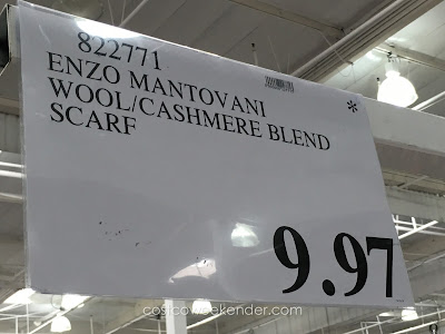 Deal for the Enzo Mantovani Wool/Cashmere Blend Scarf at Costco
