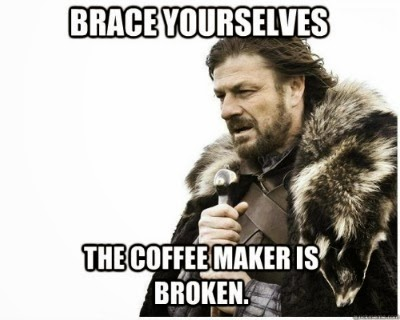 my coffee maker broke... now what? | www.graceforgayle.com