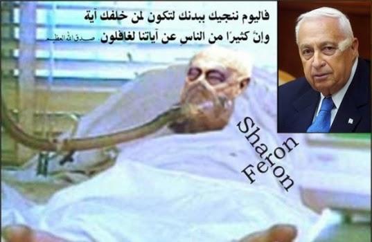 Kondisi Ariel Sharon