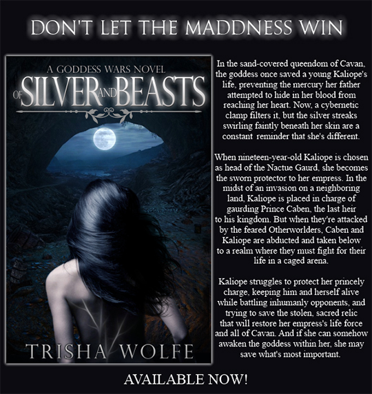 GIVEAWAY AND EXCERPT: Of Silver and Beasts by Trisha Wolfe