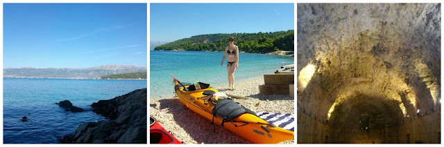 Ciovo Sea Kayaking and Diocletians basement