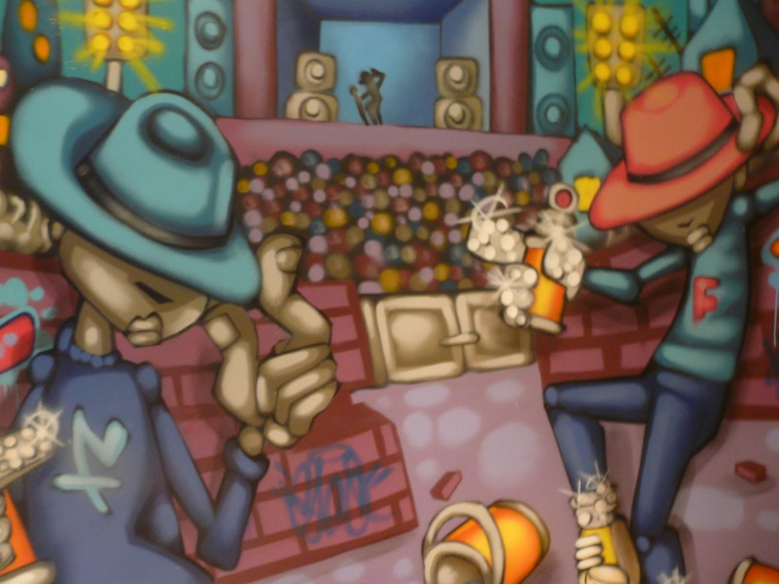 Graffiti Wall Private Commission Playroom