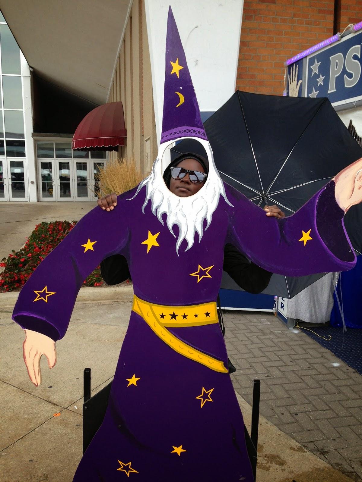 Y'er a Wizard Tiffany!