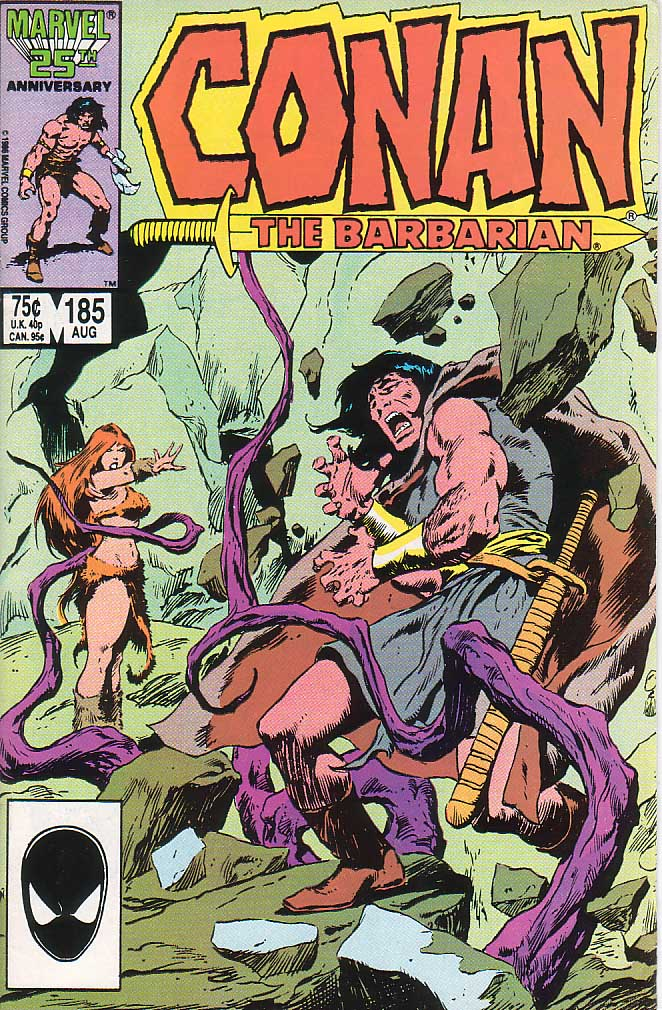Conan the Barbarian (1970) Issue #185 #197 - English 1
