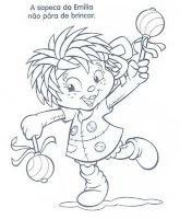 Moldes de E.V.A para festa infantil - Sítio do picapau amarelo
