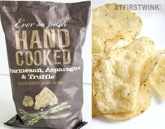 marks & spencer parmesan, asparagus, & truffle herefordshire potato crisps