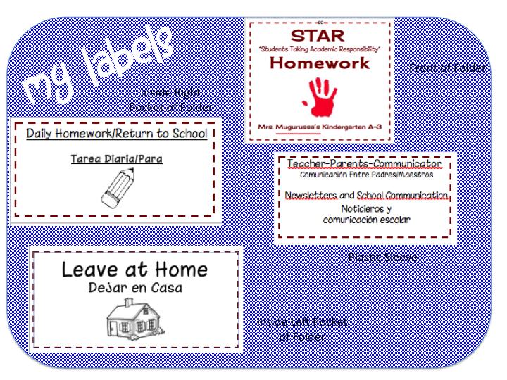Homework For Pre-K and Kindergarten